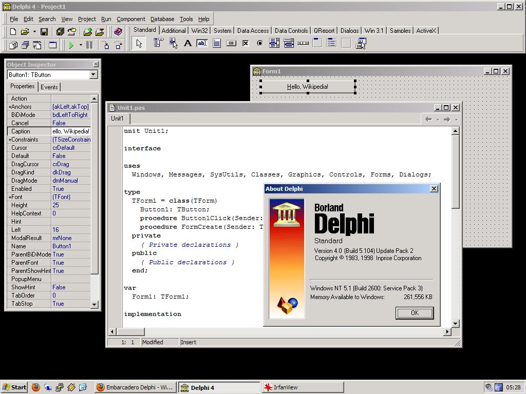 скачать бесплатно программу Delphi 7 для Windows 7 - фото 10