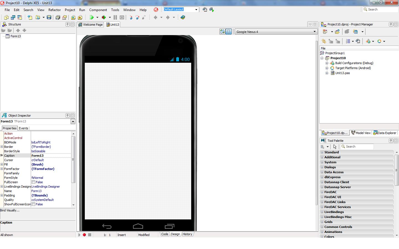 Delphi xe android на весь экран - 9